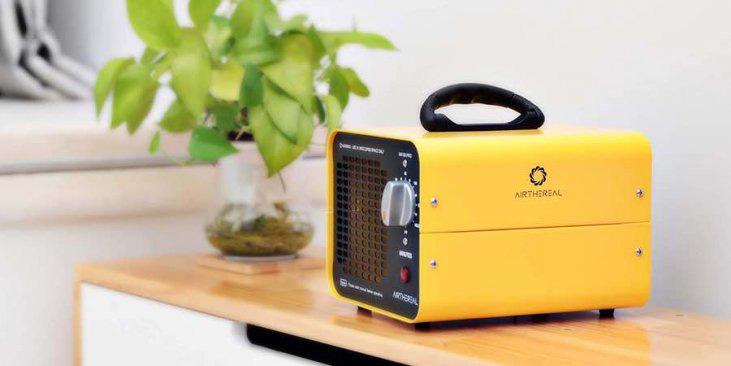 usos de una maquina de ozono